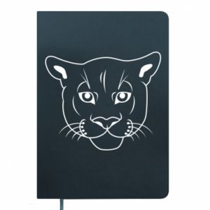 Notepad Panther black