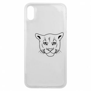 Phone case for iPhone Xs Max Panther black