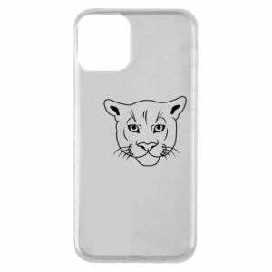 Phone case for iPhone 11 Panther black