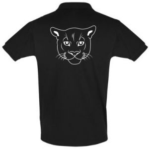 Men's Polo shirt Panther black