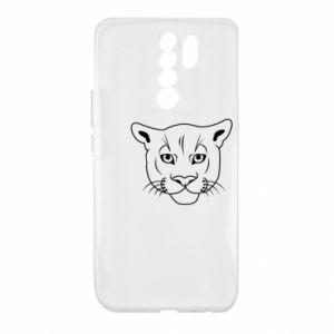 Etui na Xiaomi Redmi 9 Panther black