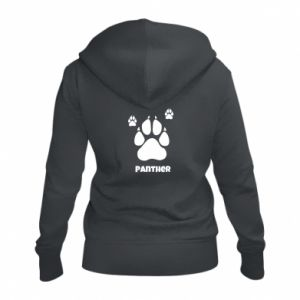 Women's zip up hoodies Panther trail