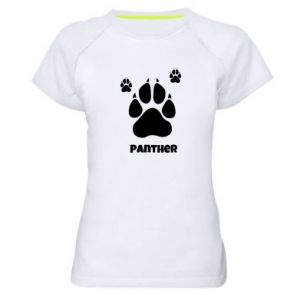 Women's sports t-shirt Panther trail
