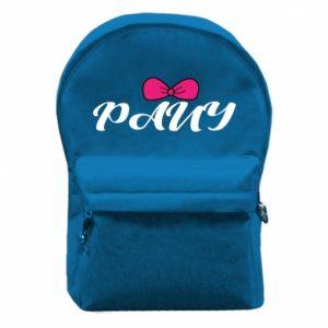 Plecak z przednią kieszenią Pany