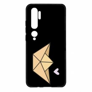 Etui na Xiaomi Mi Note 10 Paper boat with a heart