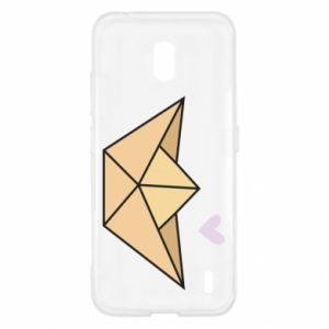 Etui na Nokia 2.2 Paper boat with a heart