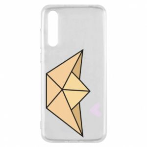Etui na Huawei P20 Pro Paper boat with a heart