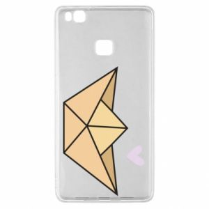 Etui na Huawei P9 Lite Paper boat with a heart