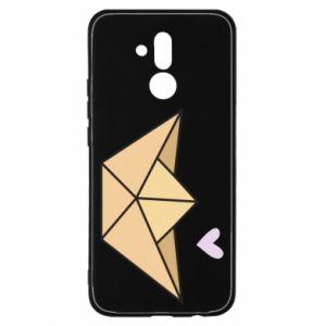 Etui na Huawei Mate 20 Lite Paper boat with a heart