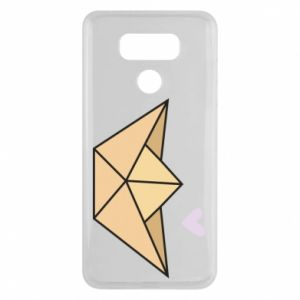 Etui na LG G6 Paper boat with a heart