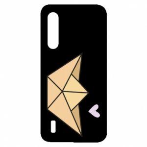 Etui na Xiaomi Mi9 Lite Paper boat with a heart