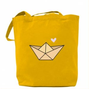 Torba Paper boat with a heart