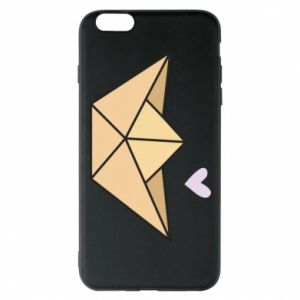 Etui na iPhone 6 Plus/6S Plus Paper boat with a heart