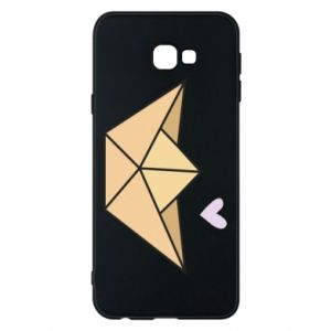 Etui na Samsung J4 Plus 2018 Paper boat with a heart