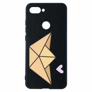 Etui na Xiaomi Mi8 Lite Paper boat with a heart