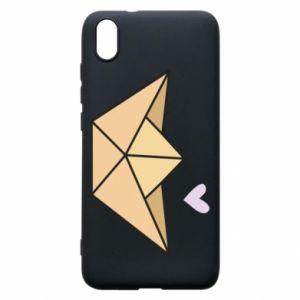 Etui na Xiaomi Redmi 7A Paper boat with a heart