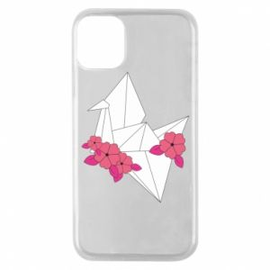 Phone case for iPhone 11 Pro Paper Crane - PrintSalon