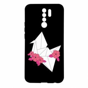 Etui na Xiaomi Redmi 9 Paper Crane