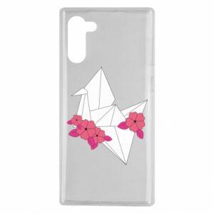 Etui na Samsung Note 10 Paper Crane