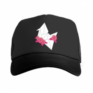 Trucker hat Paper Crane - PrintSalon