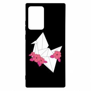 Etui na Samsung Note 20 Ultra Paper Crane