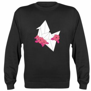Sweatshirt Paper Crane - PrintSalon