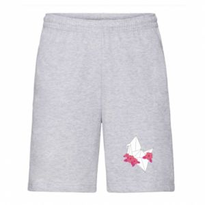 Men's shorts Paper Crane - PrintSalon