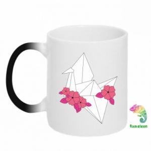 Kubek-kameleon Paper Crane
