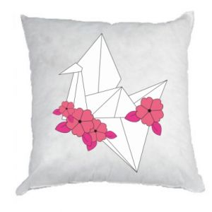 Pillow Paper Crane - PrintSalon