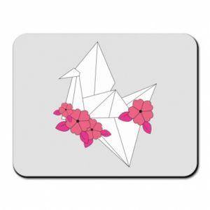 Mouse pad Paper Crane - PrintSalon