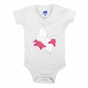 Baby bodysuit Paper Crane - PrintSalon