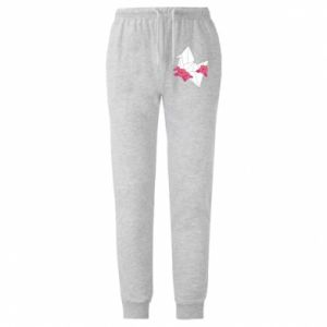 Męskie spodnie lekkie Paper Crane - PrintSalon