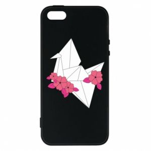 Phone case for iPhone 5/5S/SE Paper Crane - PrintSalon