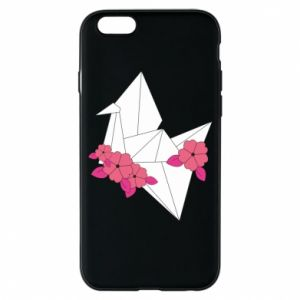 Phone case for iPhone 6/6S Paper Crane - PrintSalon