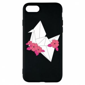 Phone case for iPhone 8 Paper Crane - PrintSalon