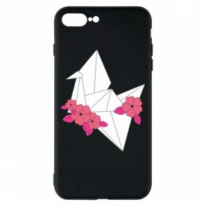 Phone case for iPhone 8 Plus Paper Crane - PrintSalon