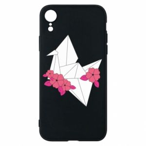Phone case for iPhone XR Paper Crane - PrintSalon