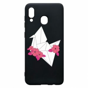 Phone case for Samsung A30 Paper Crane - PrintSalon