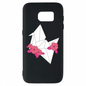 Phone case for Samsung S7 Paper Crane - PrintSalon