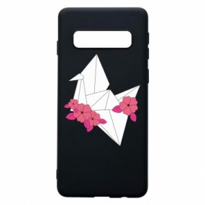 Phone case for Samsung S10 Paper Crane - PrintSalon