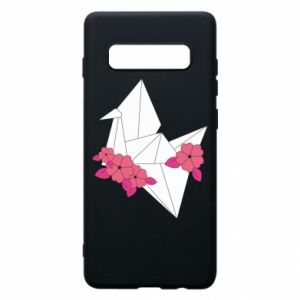 Phone case for Samsung S10+ Paper Crane - PrintSalon