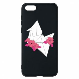 Phone case for Huawei Y5 2018 Paper Crane - PrintSalon