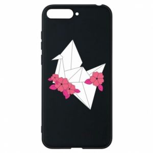 Phone case for Huawei Y6 2018 Paper Crane - PrintSalon
