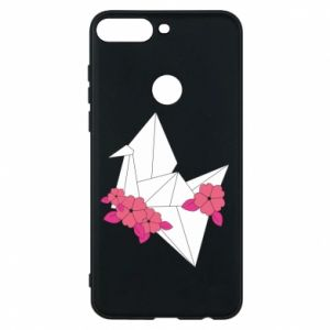Phone case for Huawei Y7 Prime 2018 Paper Crane - PrintSalon
