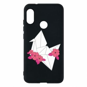 Phone case for Mi A2 Lite Paper Crane - PrintSalon