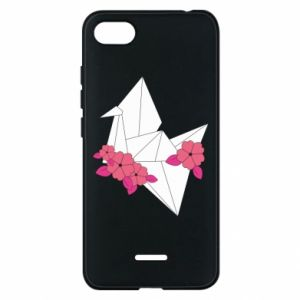 Phone case for Xiaomi Redmi 6A Paper Crane - PrintSalon