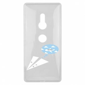 Sony Xperia XZ2 Case Paper plane dreams of flying