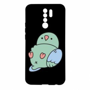 Etui na Xiaomi Redmi 9 Parrot fell