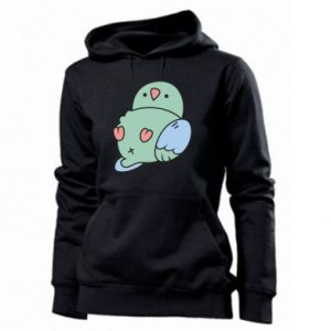 Women's hoodies Parrot fell