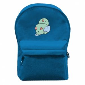 Backpack with front pocket Parrot fell